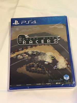 Super pixel racers - PS4 **NEW** for Sale in Kennewick, WA