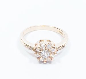 18 K Rose Gold Cubic Zerconia Ring for Sale in Lawrenceville, GA