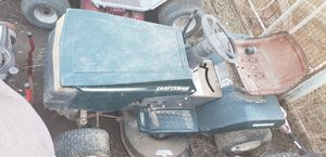 Craftsman riding lawn mower good for parts or fix up or make race ready for Sale in Phoenix, AZ