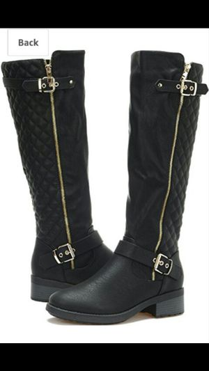 Women's Dream Pairs Utah Knee High Boots Size 9.5 for Sale in West Palm Beach, FL