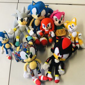 Sonic Plush Toys Plushies Boys for Sale in Whittier, CA