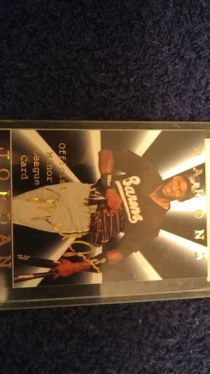 MICHAEL JORDAN BASEBALL CARDS for Sale in Cleveland, OH