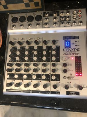 Crate Powered Mixer Board for Sale in Odessa, FL