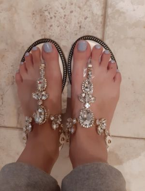 Women's Gem Sandals for Sale in Peoria, IL