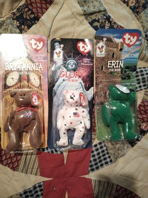 3 vintage McDonald's ty beanie babies for Sale in Burleson, TX