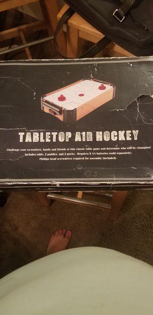 Table air hockey for Sale in Sacramento, CA