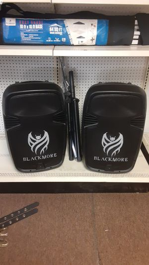 Black More Bluetooth Speaker set up for Sale in Houston, TX
