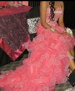 Fuschia Pink Prom/Quinceanera Dress Size 4 for Sale in Clermont, FL