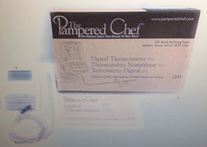 Pampered chef digital thermometer for Sale in Los Angeles, CA