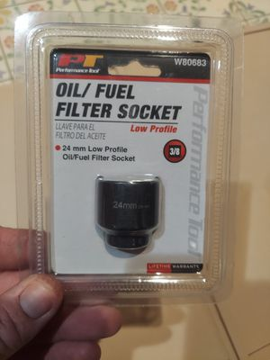 Performance Tool W80683 24mm Low Profile Oil/Fuel Filter Socket for Sale in Ventura, CA