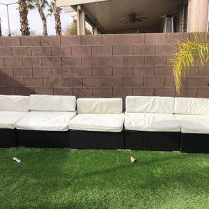 Five Piece Patio Furniture Set for Sale in Las Vegas, NV