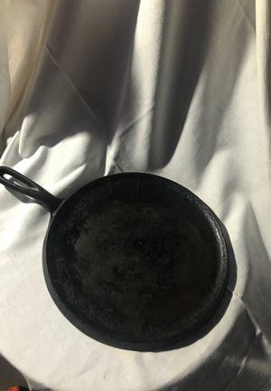 Cast iron flat grill pan for Sale in West Jordan, UT