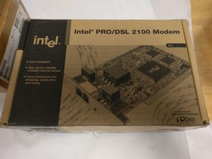 Intel PRO/DSL 2100 Modem for Sale in Portland, OR