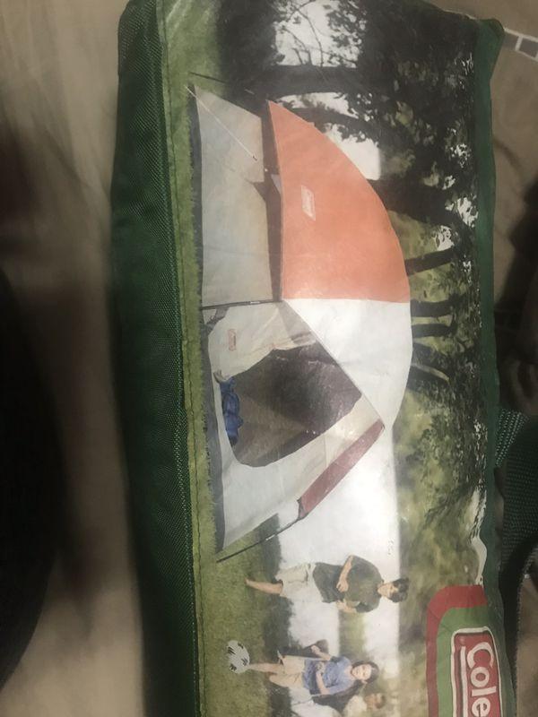 Tennis racks -fishing rod -tent-sleeping bag