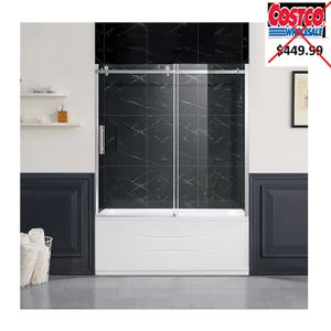 """Park 60"""" Tub Sliding Glass Door by OVE for Sale in Doral, FL"""