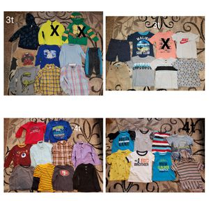 Boys clothes 3t and 4t for Sale in Stockton, CA