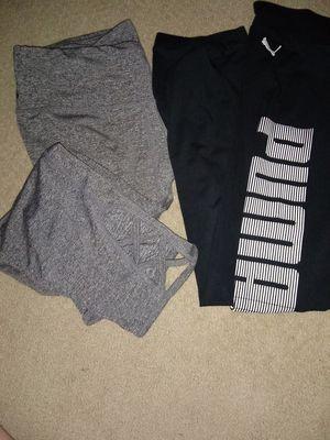 Puma and pro leggings both medium for Sale in Columbus, OH