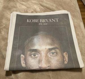 Kobe Bryant Original News paper 1/28 for Sale in Oklahoma City, OK