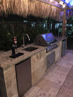 Custom bbq kitchens outdoor grill islands for Sale in Miami, FL
