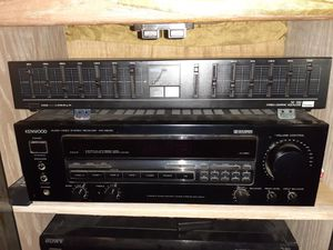 kenwood audio surround sound receiver for Sale in Fresno, CA