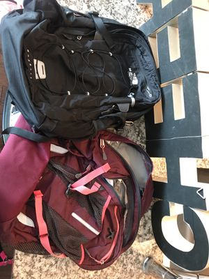 north face backpacks for Sale in Dallas, TX