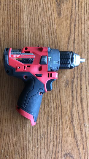 Milwaukee 2504-20 M12 Fuel Cordless Drill (Ref.131) for Sale in Superior Charter Township, MI