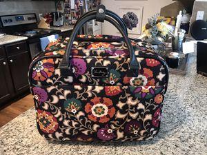Vera Bradley Iconic Rolling Work Bag for Laptop for Sale in Keller, TX