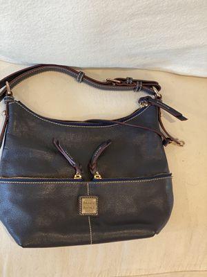 Dooney & Bourke Navy Leather Shoulder Bag for Sale in Pomona, CA