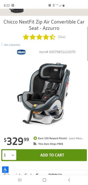 Chicco Nextfit convertible car seat for Sale in San Jose, CA
