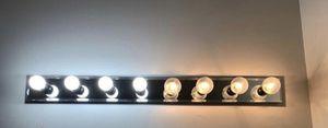 Free- 48inch vanity light with 8 bulbs for Sale in Leesburg, VA