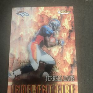 Terrell Davis & Thomas Jones Insert card for Sale in Spring Hill, FL