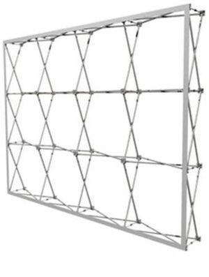 10ft x 10ft Straight RPL Fabric Pop Up Collapsible Display (Frame Only for Sale for sale  Brooklyn, NY