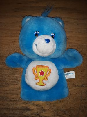 "2003 Care Bears bedtime bear hand puppet 9""plush stuffed animal for Sale in Cleveland, OH"
