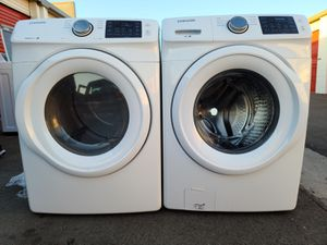 NEW !! SAMSUNG 2020 FRONT LOAD WASHER AND GAS DRYER SET for Sale in Lake Elsinore, CA