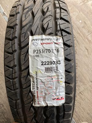 One tire P255/70R16 109S Pathfinder Sport SAT for Sale in Dallas, TX