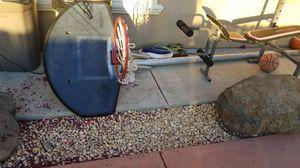 In ground basketball hoop for Sale in Salida, CA