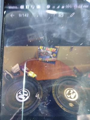Subwoofers and box for Sale in Wichita, KS