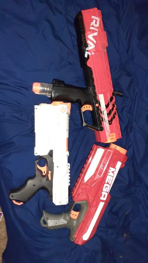 3 nerf guns for 25 that just need bullets for Sale in Phoenix, AZ