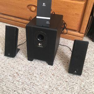 Logitech Black Sound System for Sale in Boston, MA