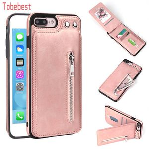Cases Fashion zipper Leather Phone Case Card Holder Wallet Cover for Sale in Baltimore, MD