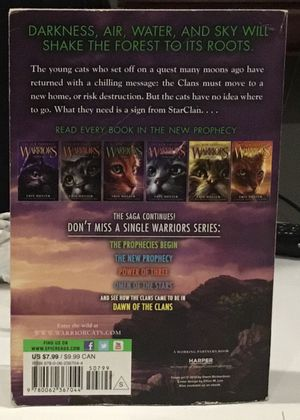 Warriors the new prophecy dawn Erin hunter for Sale in Seattle, WA