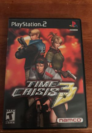 Time Crisis 3 (with light guns) - PS2 for Sale in Newington, CT