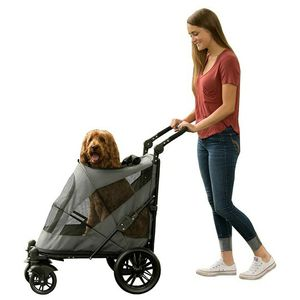 Pet Gear NO-Zip Stroller, Push Button Zipperless Dual Entry, for Single or Multiple Dogs/Cats for Sale in Chicago, IL