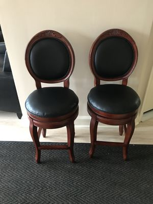 $150 for both swivel chairs ( will sell separately) for Sale in Langhorne, PA