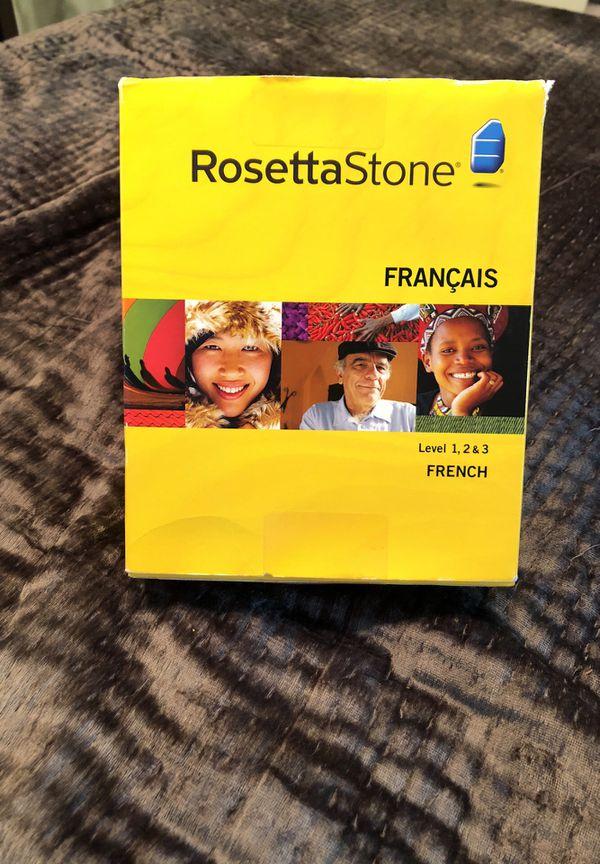 Rosetta Stone French with headphones