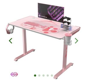"""NEW PINK 45"""" GAMING/OFFICE DESK! for Sale in Rowland Heights, CA"""