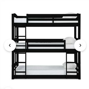 3 tier bunk bed for Sale in Cuyahoga Falls, OH