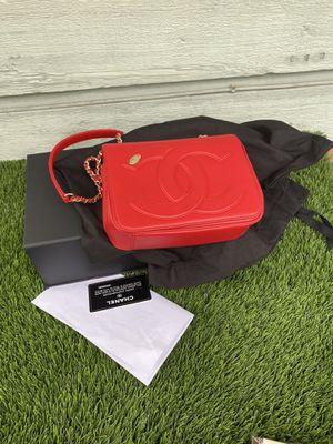Chanel 18B flap mania calfskin bag for Sale in San Diego, CA