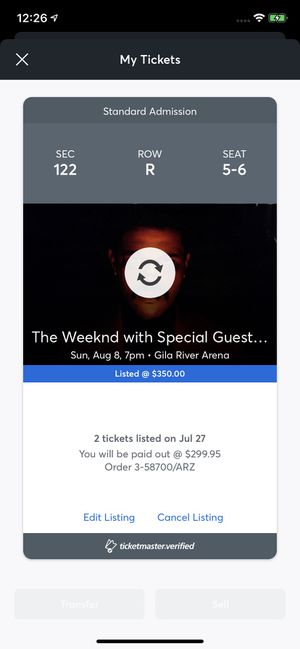 The weeknd for Sale in Chandler, AZ