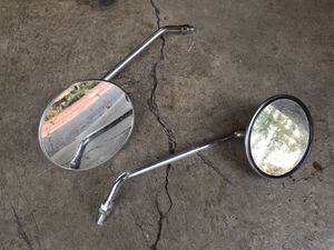 Universal mirrors for classic motorcycle Honda CB for Sale in Wilsonville, OR